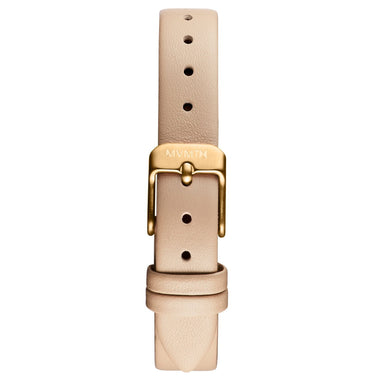 MOD - 12mm Beige Leather gold