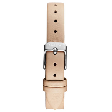 MOD - 12mm Beige Leather silver