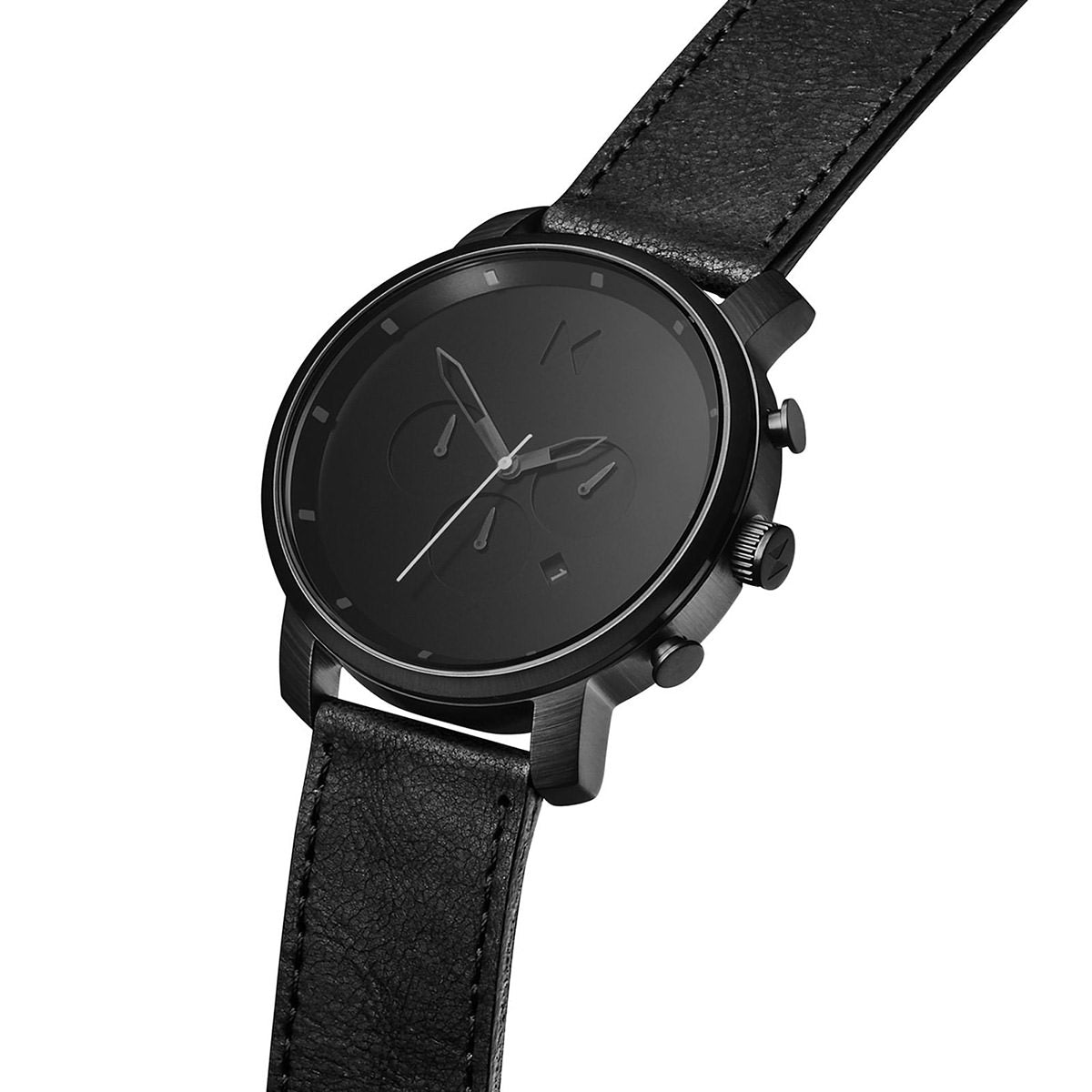 Chrono Black Leather