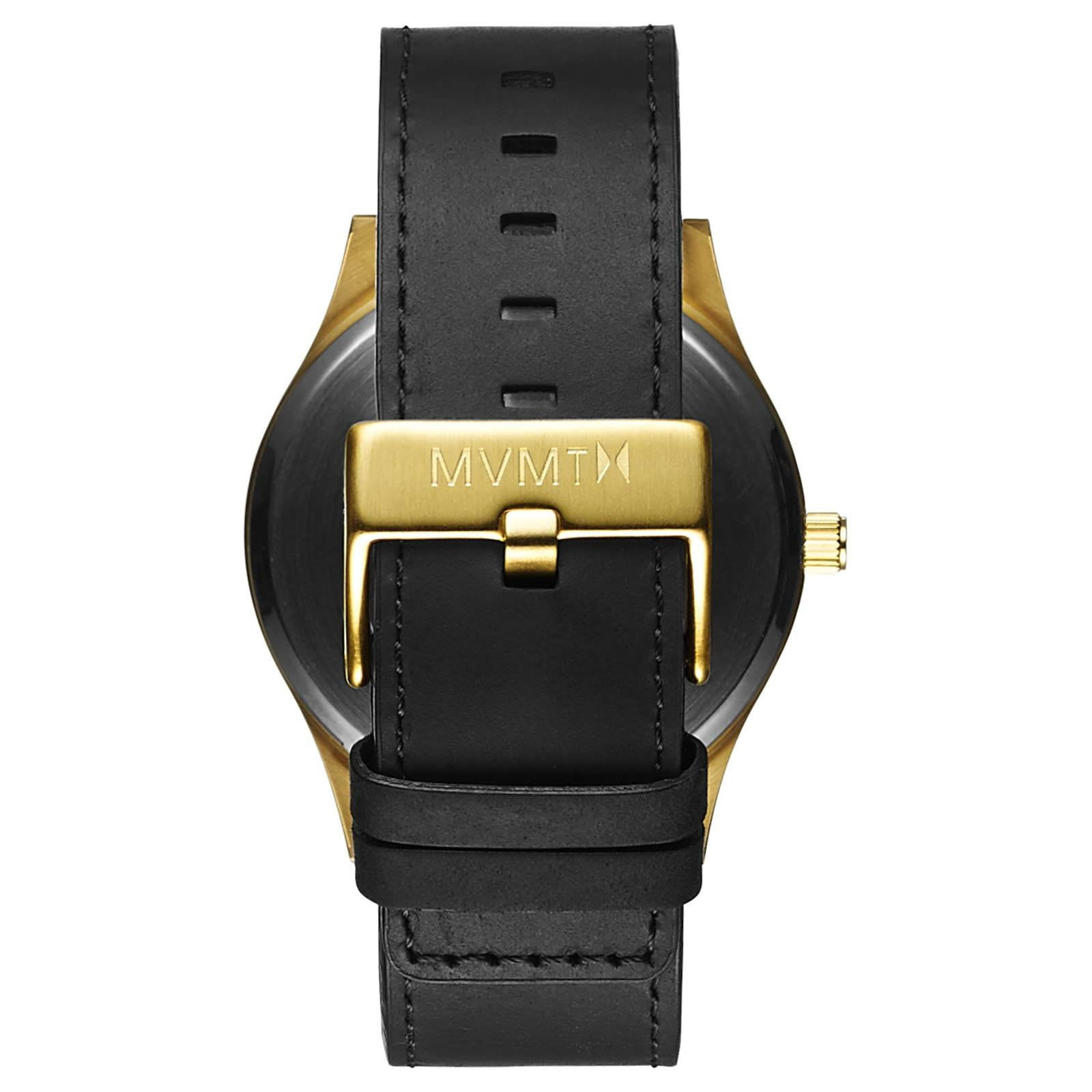 Classic Black/Gold Leather