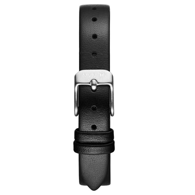 MOD - 12mm Black Leather silver