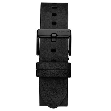 Rise - 20mm Black Leather Black