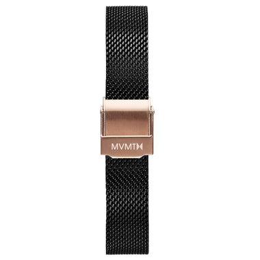 MOD - 12mm Mesh Band black rose gold