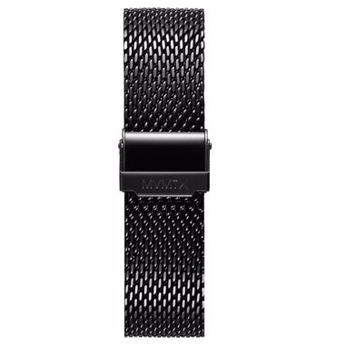 Chrono - 20mm Mesh Band Black