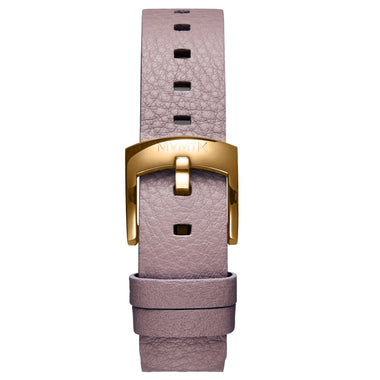 Bloom - 16mm Purple Leather gold