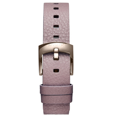 Bloom - 16mm Purple Leather titanium