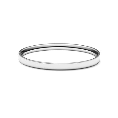 Ellipse Bangle Silver