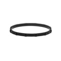Stud Bangle Thin Matte Black