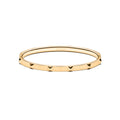 Stud Bangle Thin Gold