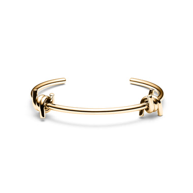 Double Barbed Cuff Gold
