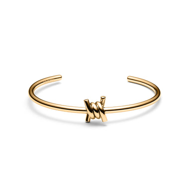 Single Barbed Cuff Gold