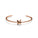 Single Barbed Cuff Rose Gold