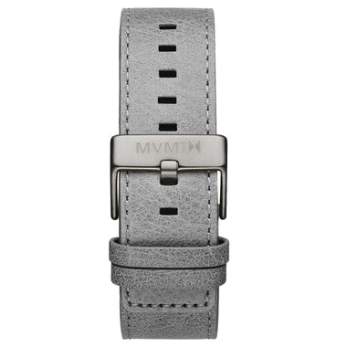 Classic - 24mm Light Grey Leather