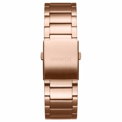 Classic - 24mm Steel Band rose gold