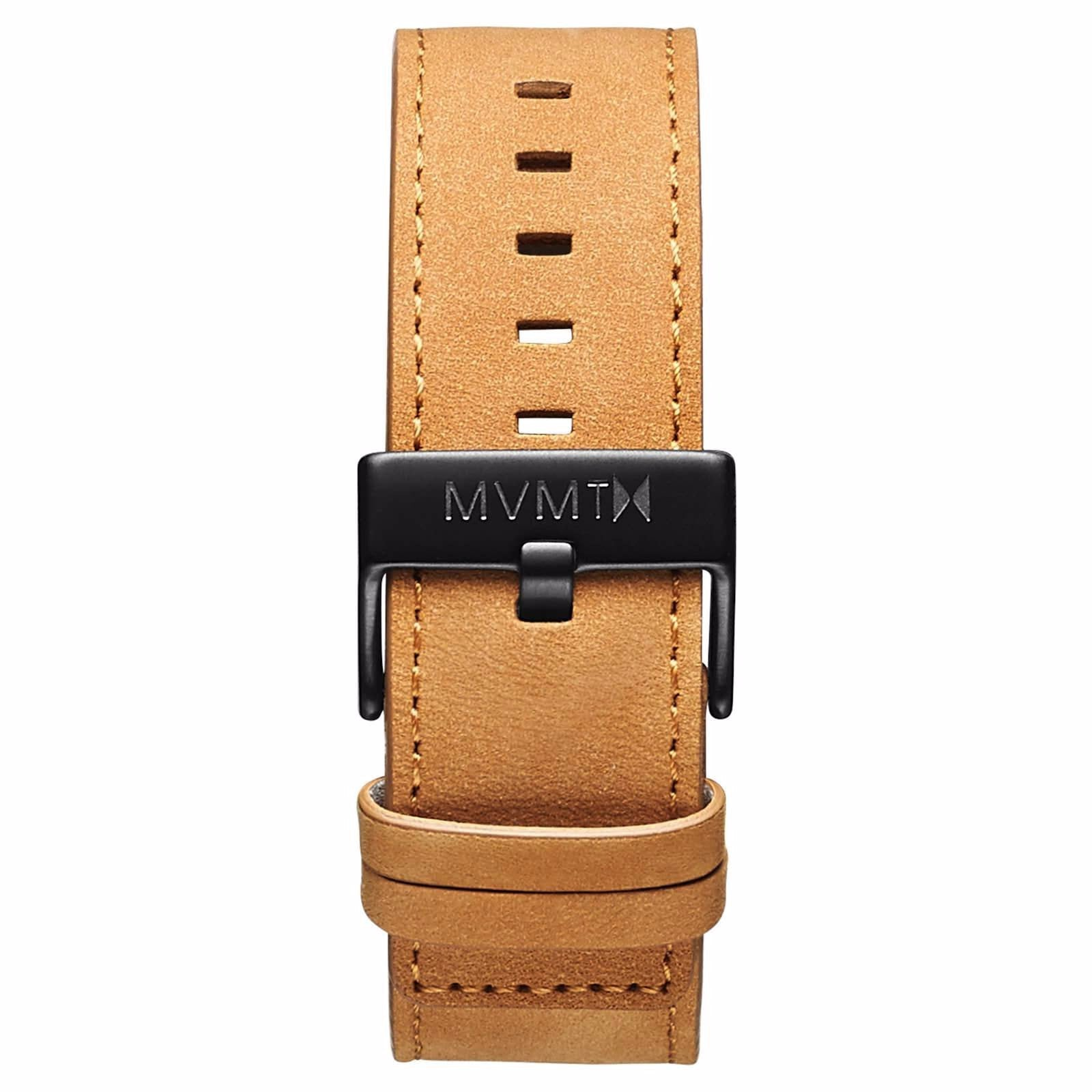 Classic - 24mm Tan Leather - black