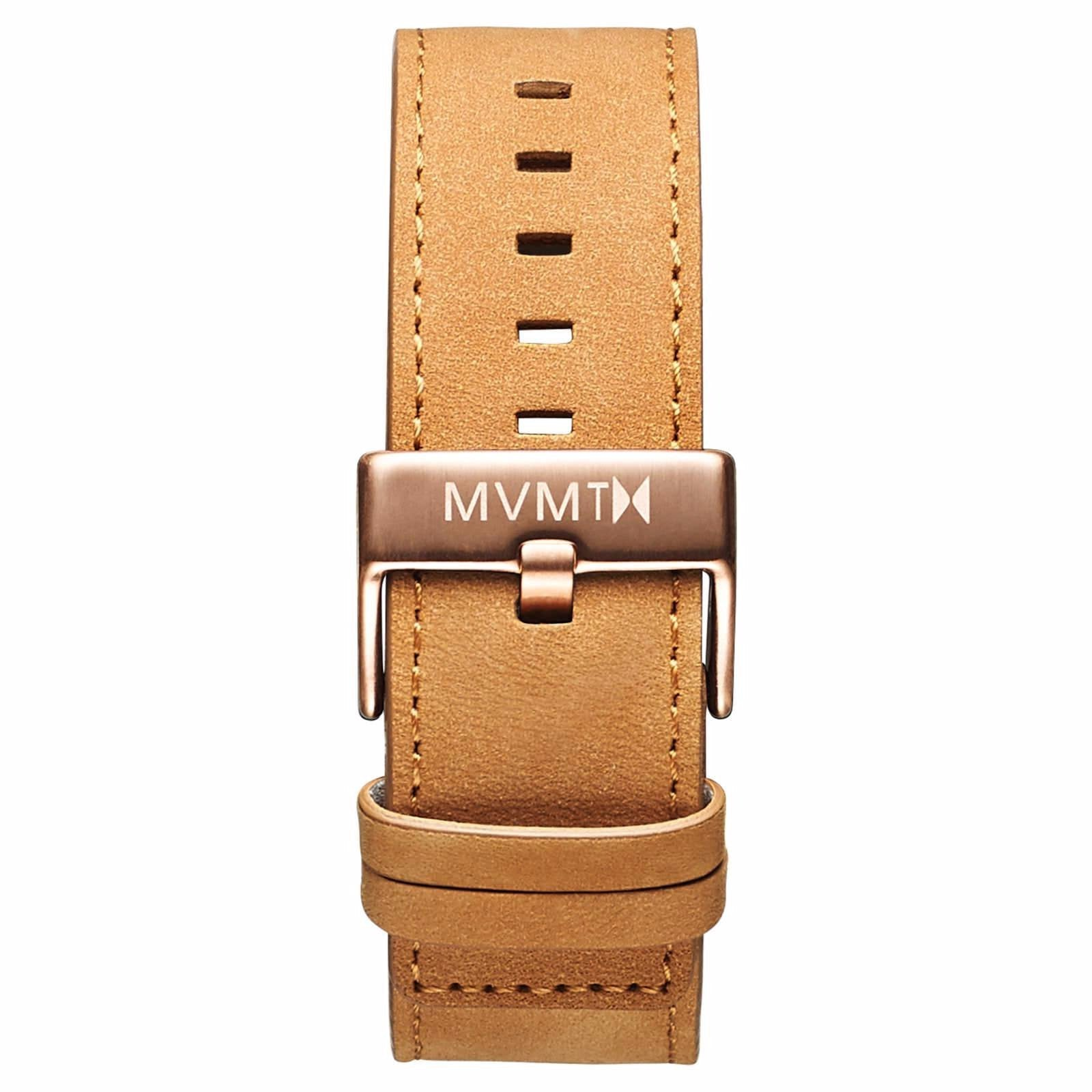 Classic - 24mm Tan Leather - rose gold