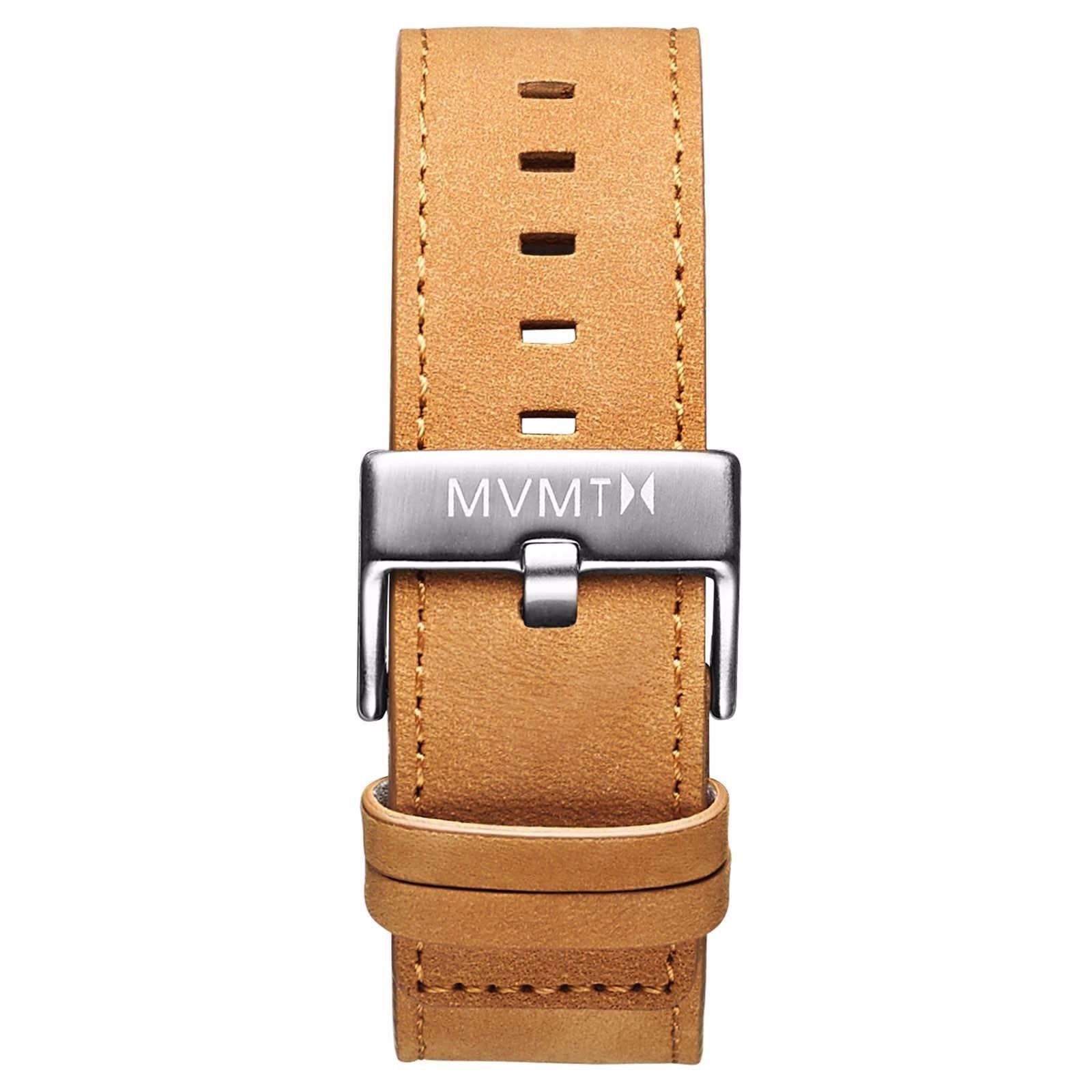 Classic - 24mm Tan Leather - silver