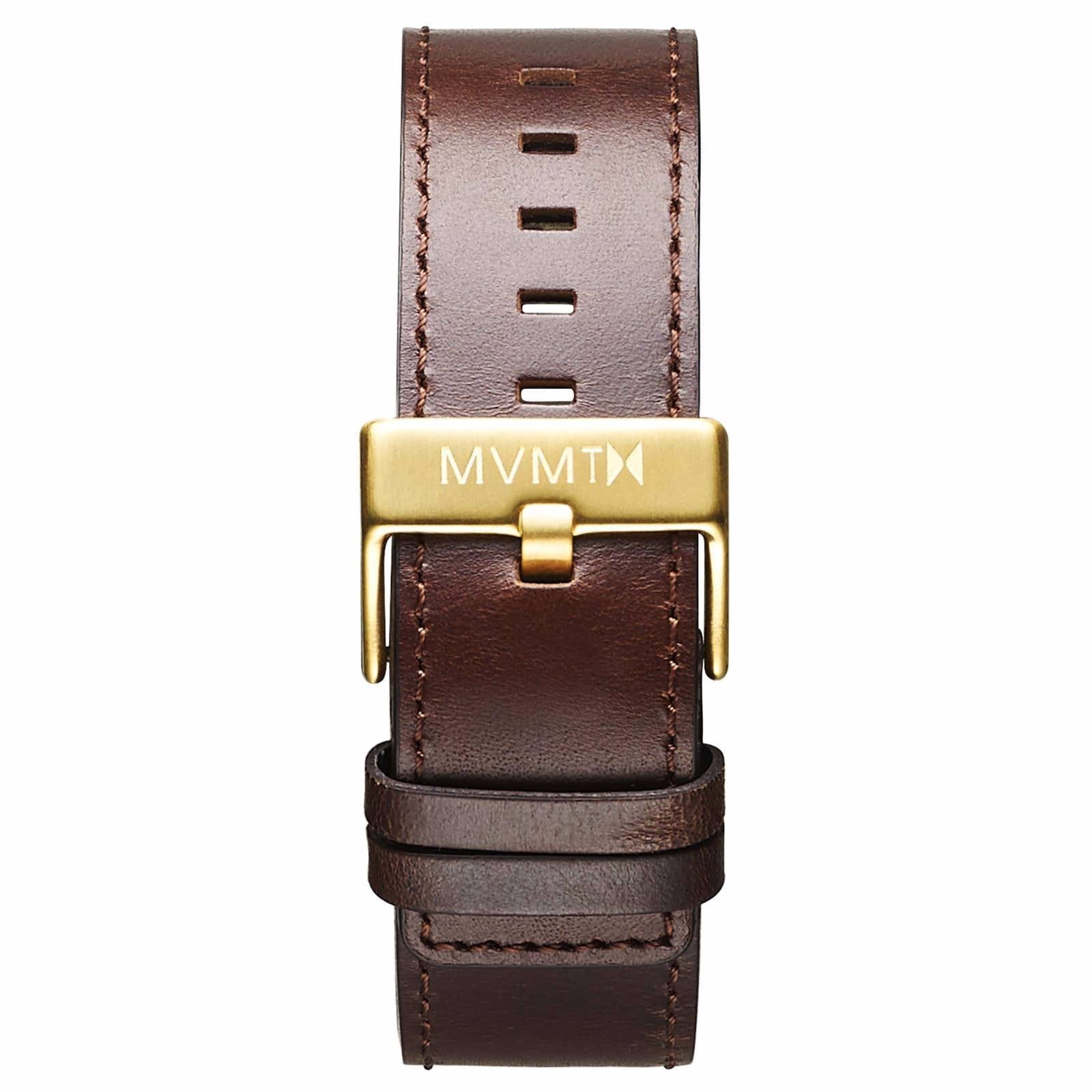Classic - 24mm Brown Leather - gold
