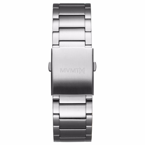 Classic - 24mm Steel Band silver