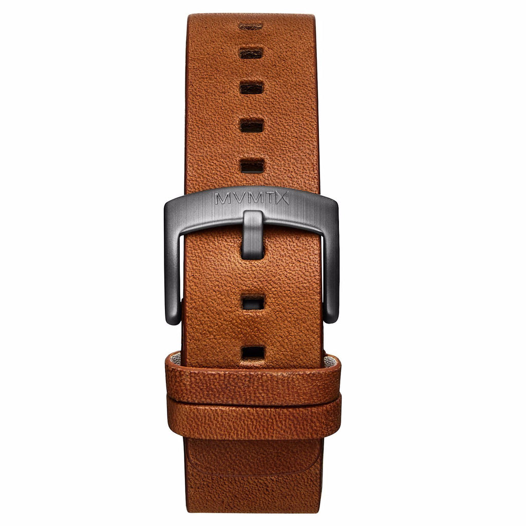 Revolver - 20mm Cognac Leather