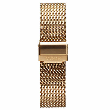 Voyager - 21mm Mesh Band gold