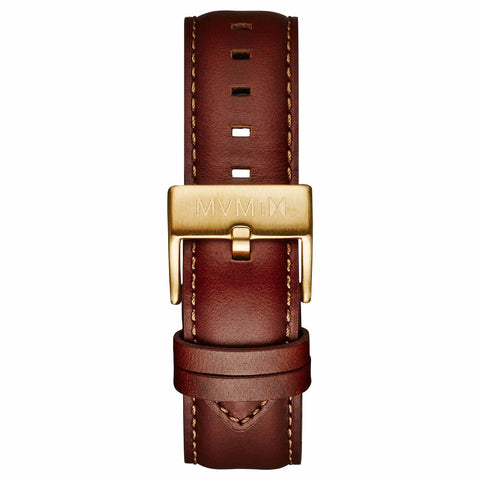 40 Series - 20mm Natural Leather gold