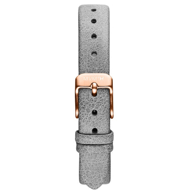 MOD - 12mm Grey Leather rose gold