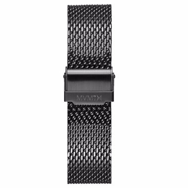 Chrono - 20mm Mesh Band Gunmetal