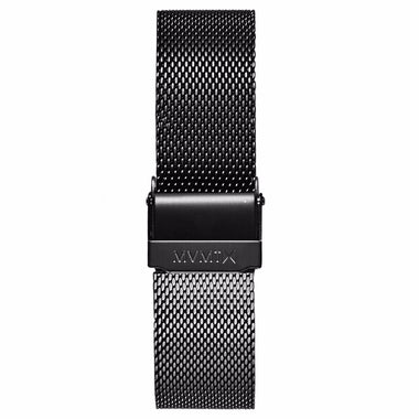 Boulevard - 18mm Mesh Band Gunmetal