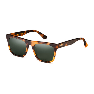 Highball Polarized Matte Tortoise/Dark Green