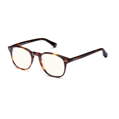 Hyde Everscroll Matte Brandy Tortoise/Clear Everscroll