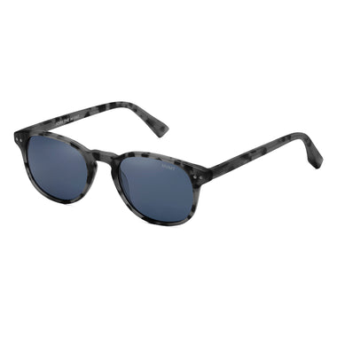 Hyde Polarized Matte Sharkskin Grey/Dark Blue