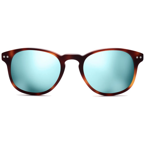 Hyde Polarized Matte Whiskey Tortoise/Crystal Mirror
