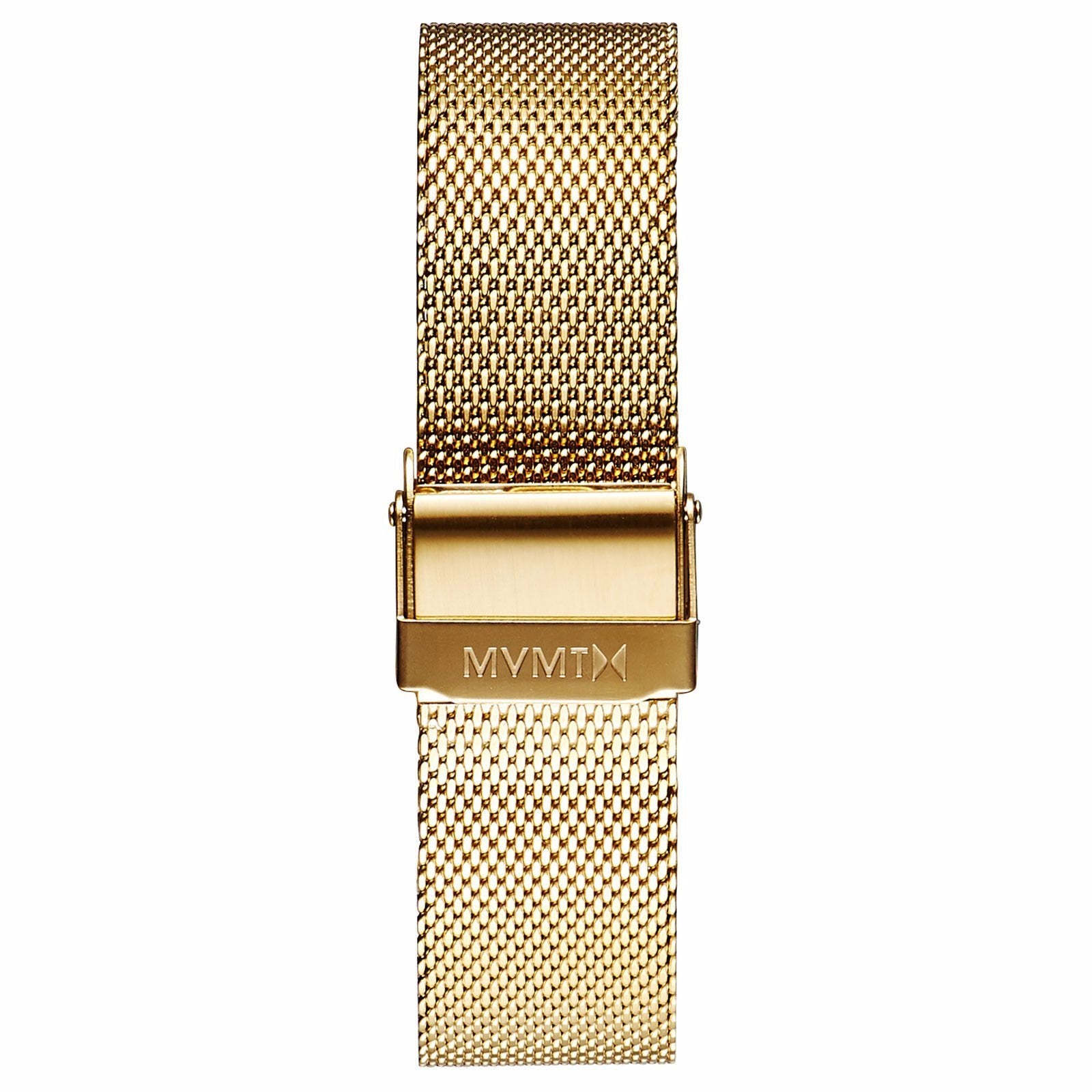 Boulevard - 18mm Mesh Band - gold