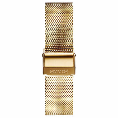 Boulevard - 18mm Mesh Band gold