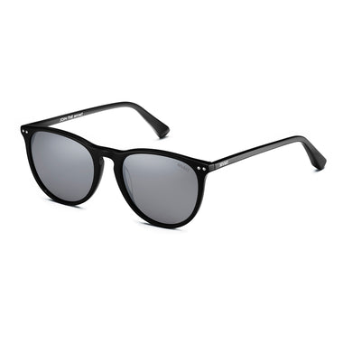 Ingram Polarized Pure Black/Silver Flash Lenses