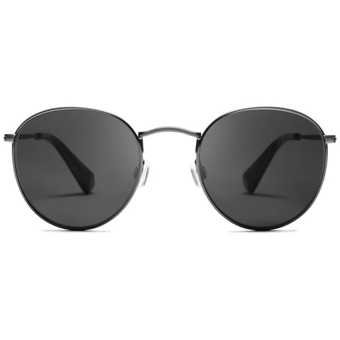 Icon Brushed Gunmetal/Dark Grey Lenses