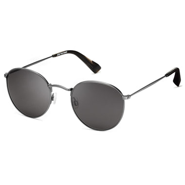 Icon Polarized Brushed Gunmetal/Dark Grey Lenses