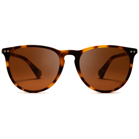Ingram Polarized Matte Brandy Tortoise/Brown Lenses