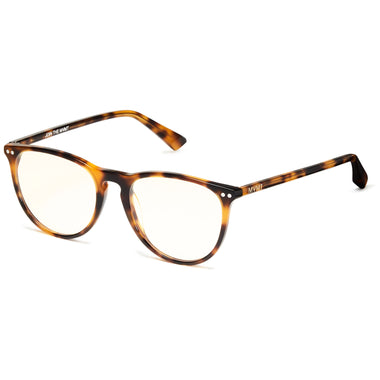 Ingram Everscroll Matte Brandy Tortoise/Clear Everscroll