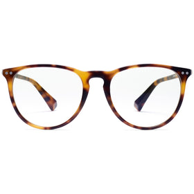 Ingram Clear Matte Brandy Tortoise/Clear Lenses
