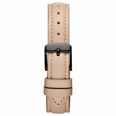 Nova - 16mm Nude Leather black
