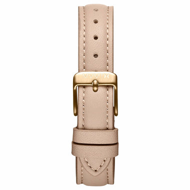 Nova - 16mm Nude Leather gold