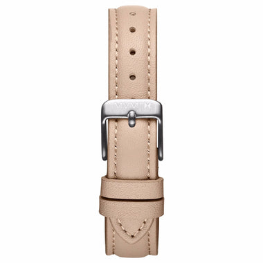 Nova - 16mm Nude Leather silver
