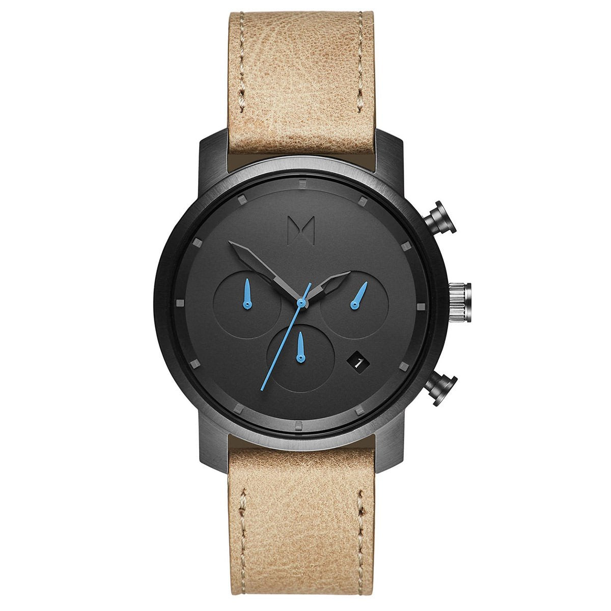 Chrono 40MM Gunmetal Sandstone