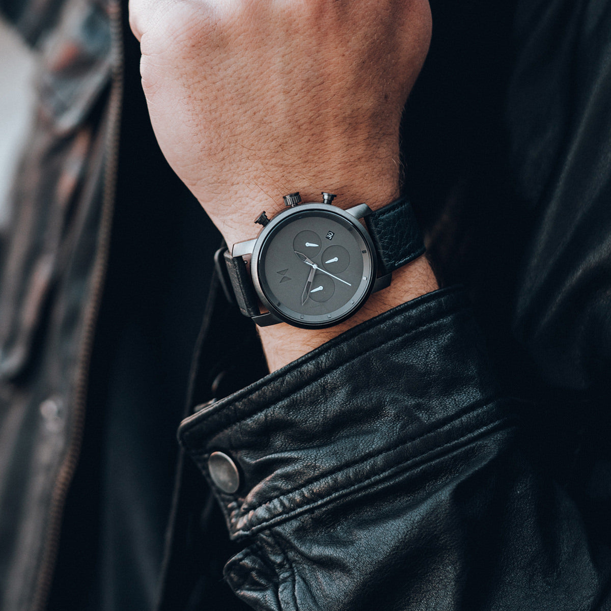Chrono 40MM Gunmetal Black