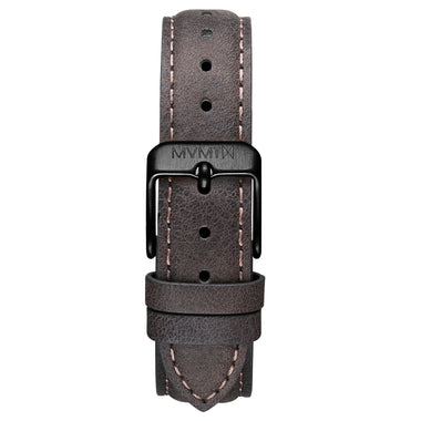 Signature II - 16mm Mauve Leather Black