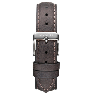 Signature II - 16mm Mauve Leather Silver