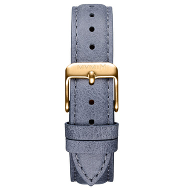 Signature II - 16mm Earl Grey Leather Gold