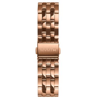 Signature Square - 16mm Steel Band Rose Gold